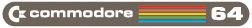 [Commodore 64 logo]